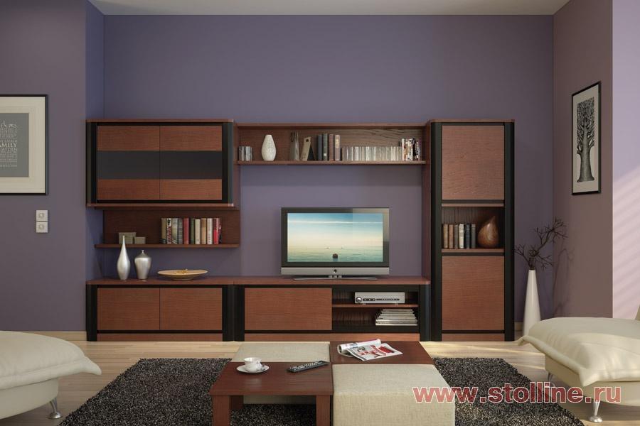 Модульная Мебель Для Гостиной Глянцевая